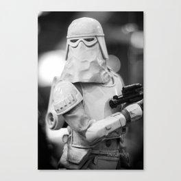 """""""Snowtrooper""""  Canvas Print"""
