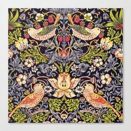 William Morris Strawberry Thief Art Nouveau Painting Canvas Print