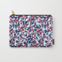 Break the Glass Ceiling! Red White & Blue Carry-All Pouch