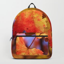 Autumn in Canada - Maple leafs Backpack