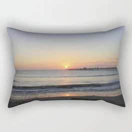 Sunset at Peru Rectangular Pillow
