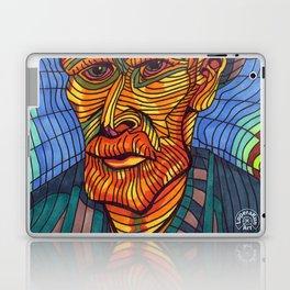 VINCENT VAN GOGH PORTRAIT Laptop & iPad Skin