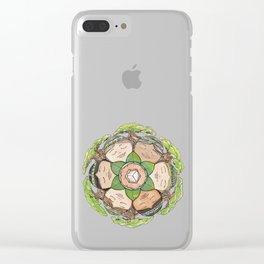 Earth Dreaming Clear iPhone Case