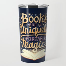 Books are magic Travel Mug