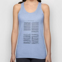 well-tempered clavier Unisex Tank Top