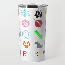 RWBY Emblems Travel Mug