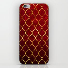 Moroccan Tile islamic pattern #society6 #decor #buyart #artprint iPhone Skin