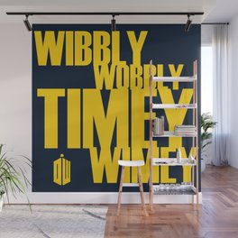 Wibbly Wobbly Wall Mural