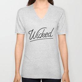 Wicked Unisex V-Neck