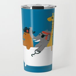 Everybody wants to be the pirate Travel Mug