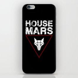House Mars iPhone Skin