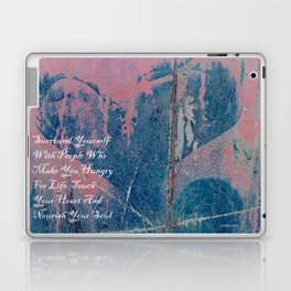 Hungry For Life Laptop & iPad Skin