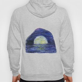 Moonscape by annmariescreations Hoody