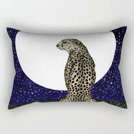 Cheetah Moon II Rectangular Pillow