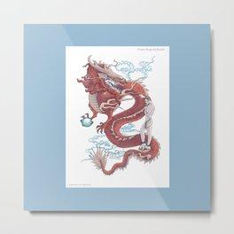 Treasure Dragon Metal Print