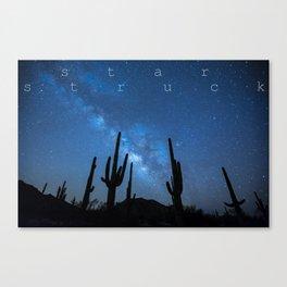 STAR STRUCK Canvas Print