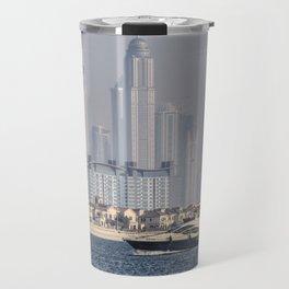 Dubai Yacht And Architecture Travel Mug