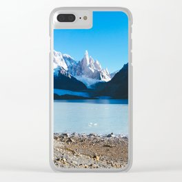 Laguna Torre, Patagonia, Argentina Clear iPhone Case