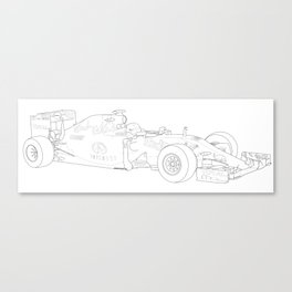 Red Bull RB11 Canvas Print