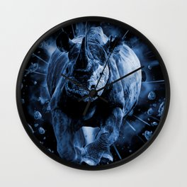 CHARGE!!! Wall Clock