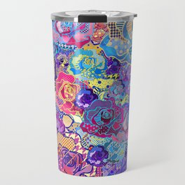 Wallflower in Evening Travel Mug