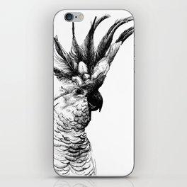Cocky cockatoo iPhone Skin
