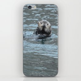 Sea Otter Fellow iPhone Skin