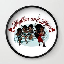 Rhythm ad Blues Wall Clock