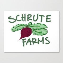 Schrute Farms Canvas Print