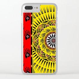 Sun Bear Clear iPhone Case