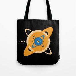 Solar System To Scale - Concentric Tote Bag