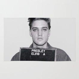 Elvis Presley Mugshot Rug