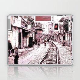 The train is coming soon.... Laptop & iPad Skin