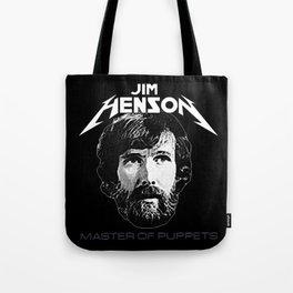 ORIGINAL Jim Henson Master of Puppets Tote Bag