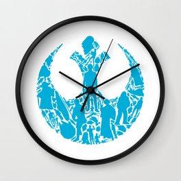 Rebel Scum Wall Clock