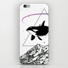 Trip to the Mountains iPhone Skin