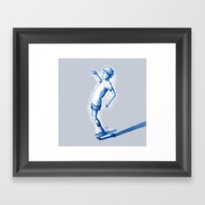Rider I Framed Art Print