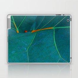 Two Sea Grape Leaves Laptop & iPad Skin