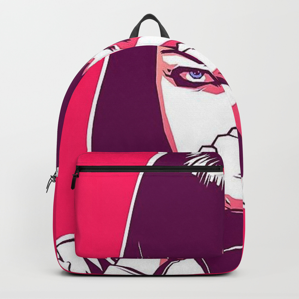 Pulp Fiction Mia Wallace Backpack by Prodesigner2 BKP8670977