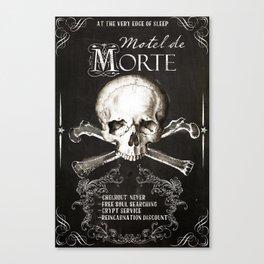 Motel de Morte Canvas Print