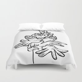 HandsTalk Duvet Cover