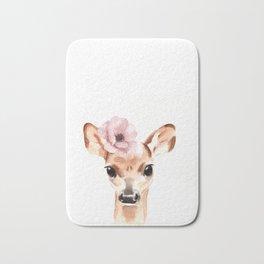 Doe. A female deer. Bath Mat