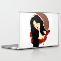 belle Laptop & iPad Skins featuring belle by chazstity