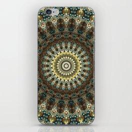 Gorgeous Earth Jewel Mandala iPhone Skin