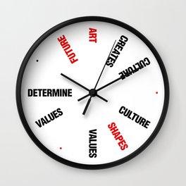 ART EFFECT Wall Clock
