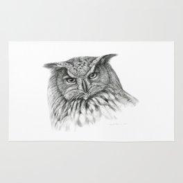 Owl (G2-011)  bubo bubo  Rug