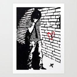 Emotional Art Print