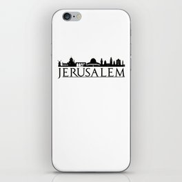 Jerusalem Israel Middle East Love Travel iPhone Skin