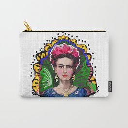 Graphic Frida Carry-All Pouch