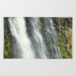 Hunua Falls, NZ Rug